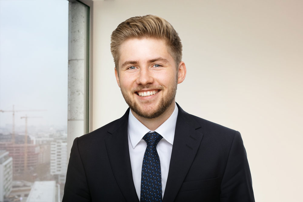 Christopher Eisenhuth, Head of Finance